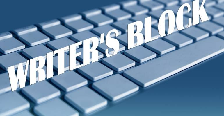 Writer's block en dan?